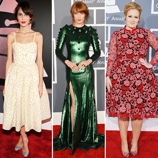 See All Of The Beautiful Brits At The 2013 Grammy Awards