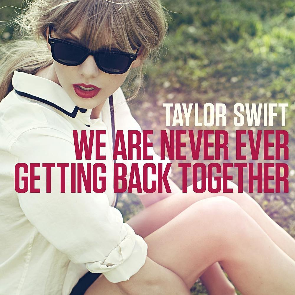 "Give your bestie an antilove song she can belt out in the shower, like Taylor Swift's single ""We Are Never Ever Getting Back Together"" ($1)."