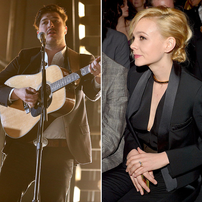 Marcus Mumford and Carey Mulligan