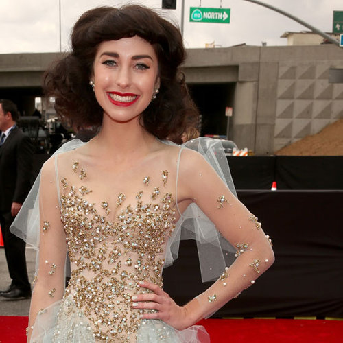 Pictures of Kimbra in Jamie Lee at the 2013 Grammys