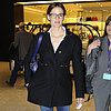 Jennifer Garner at London's Heathrow Airport