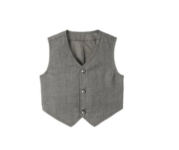 Pair this suit vest ($21, originally $49) with a white dress shirt and slacks to instantly upgrade his red-carpet style.
