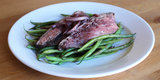 Your Healthy Valentine: Wine-Poached Steak With Haricots Verts