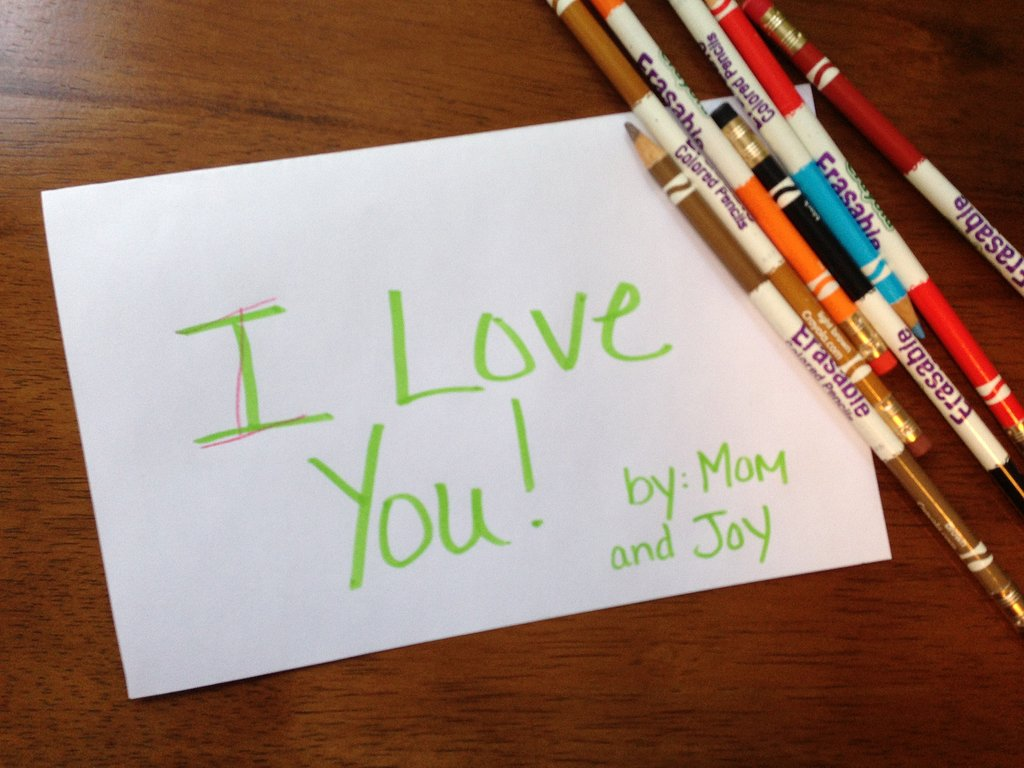 "Extend the Learning: Create an ""I Love You"" book"