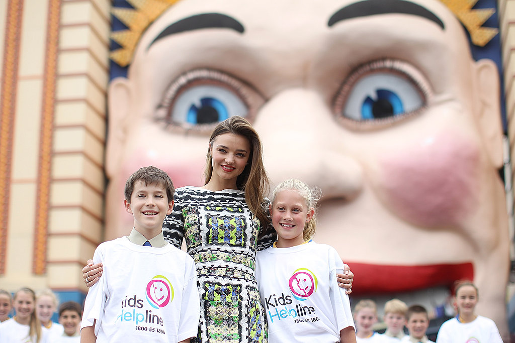 Miranda Kerr Announced as New Kids Helpline Ambassador