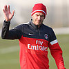 David Beckham's First Training Session in Paris