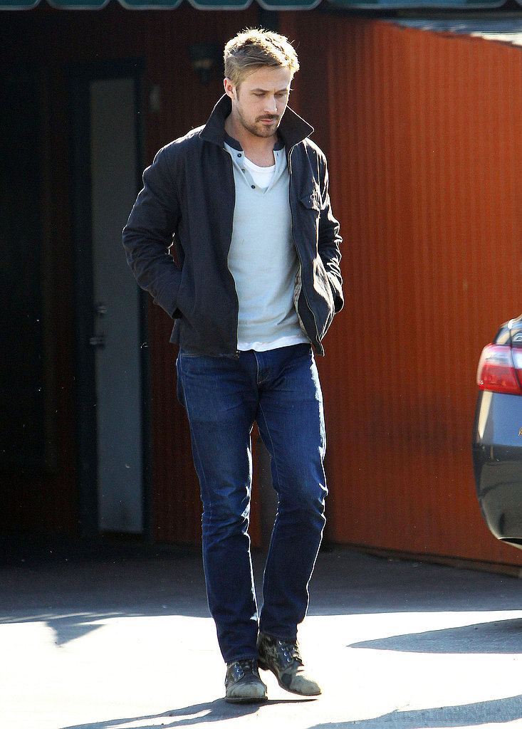 Ryan Gosling had a low-key lunch in LA on Wednesday.