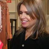 Jenny Packham Interview at New York Fashion Week | Video