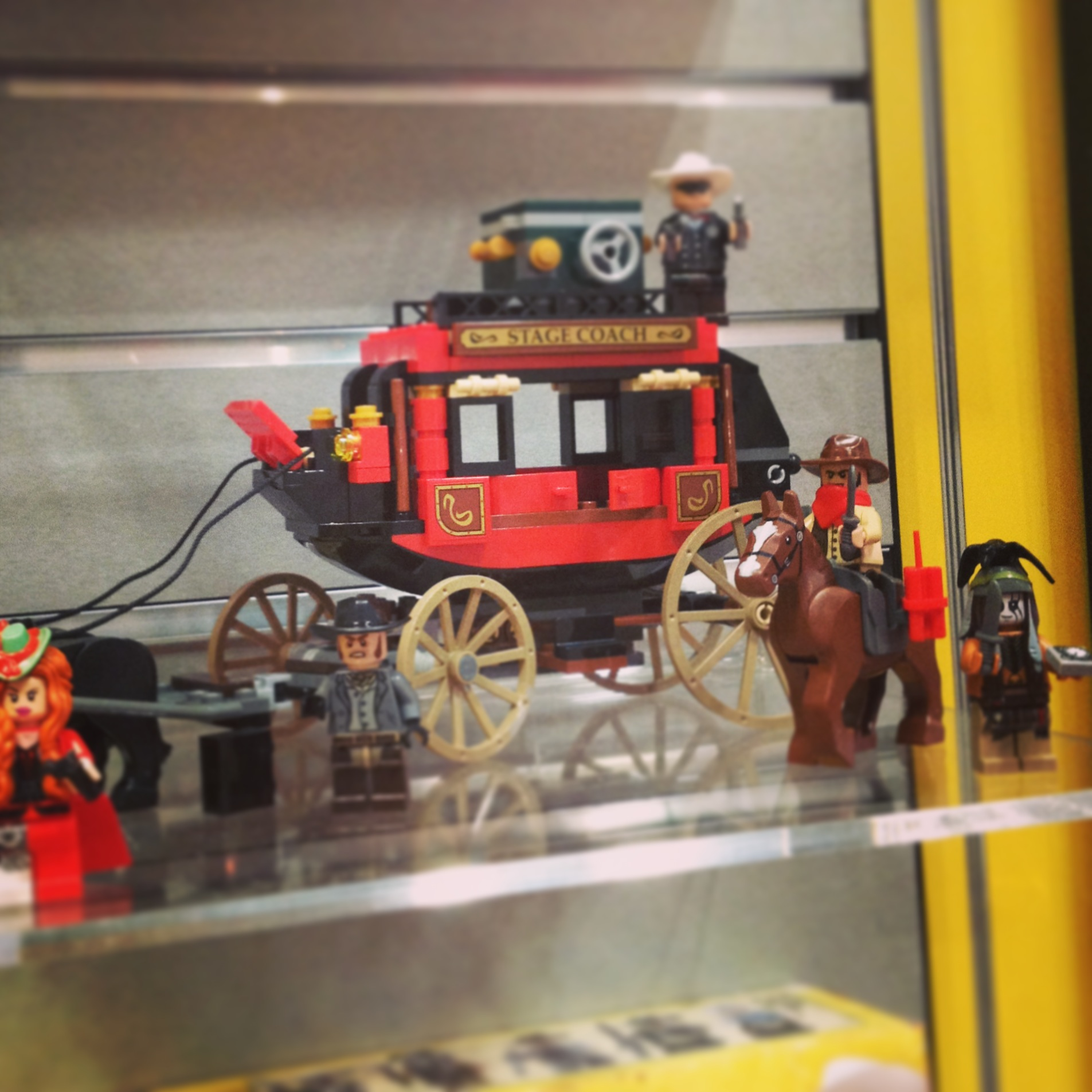 Lego's Lone Ranger collection will include this great stagecoach.