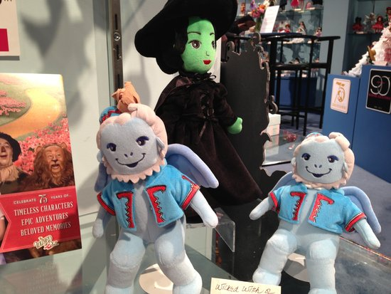 Flying monkey play dolls are part of Madame Alexander's adorable Wizard of Oz collection.