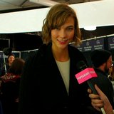 Celebrity Model Interview: Karlie Kloss' Hair & Makeup Tips
