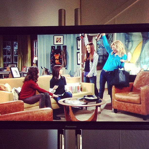 Whitney Cummings shared a peek at an upcoming Whitney episode. Source: Instagram user therealwhitney