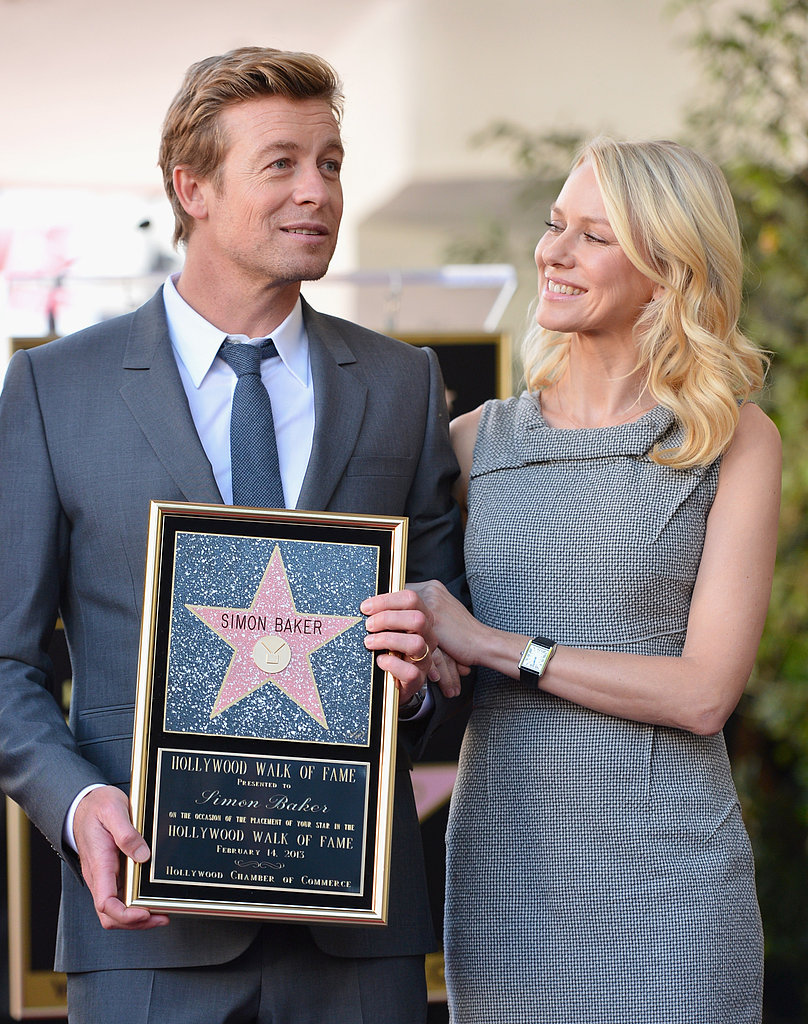 Naomi Watts and Simon Baker have been friends since 2005, after acting in The Ring 2 together.