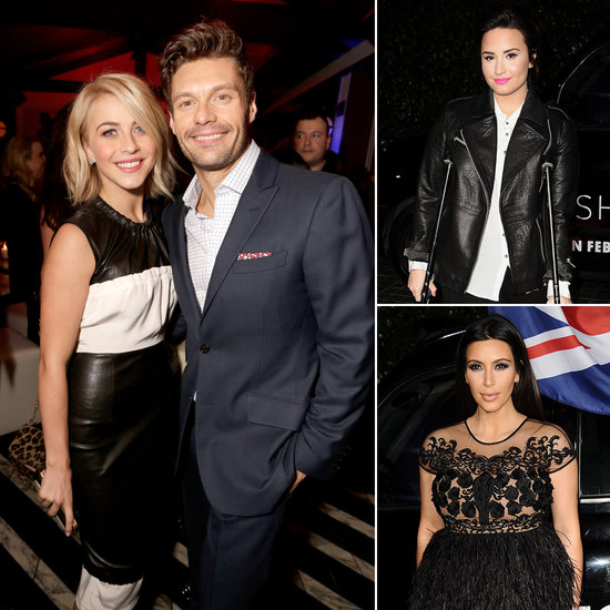 Julianne and Ryan Party With Kim, Demi, and More at Topshop