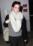 Emma Watson Spreads the Love and Lands in NYC