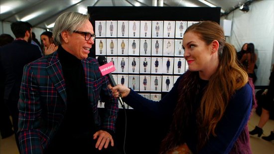 Tommy Hilfiger Talks Modern-Day Muses and Inspiration For Fall '13
