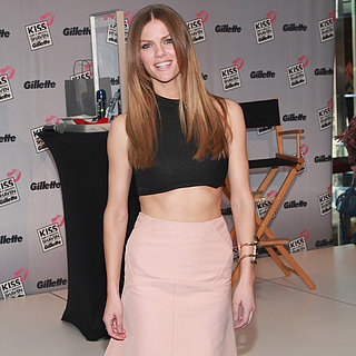 Brooklyn Decker Wearing a Crop Top