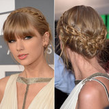 Taylor Swift's Milkmaid Braid