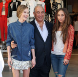 Kate Bosworth and Demi Lovato Cut the Ribbon at LA's New Topshop