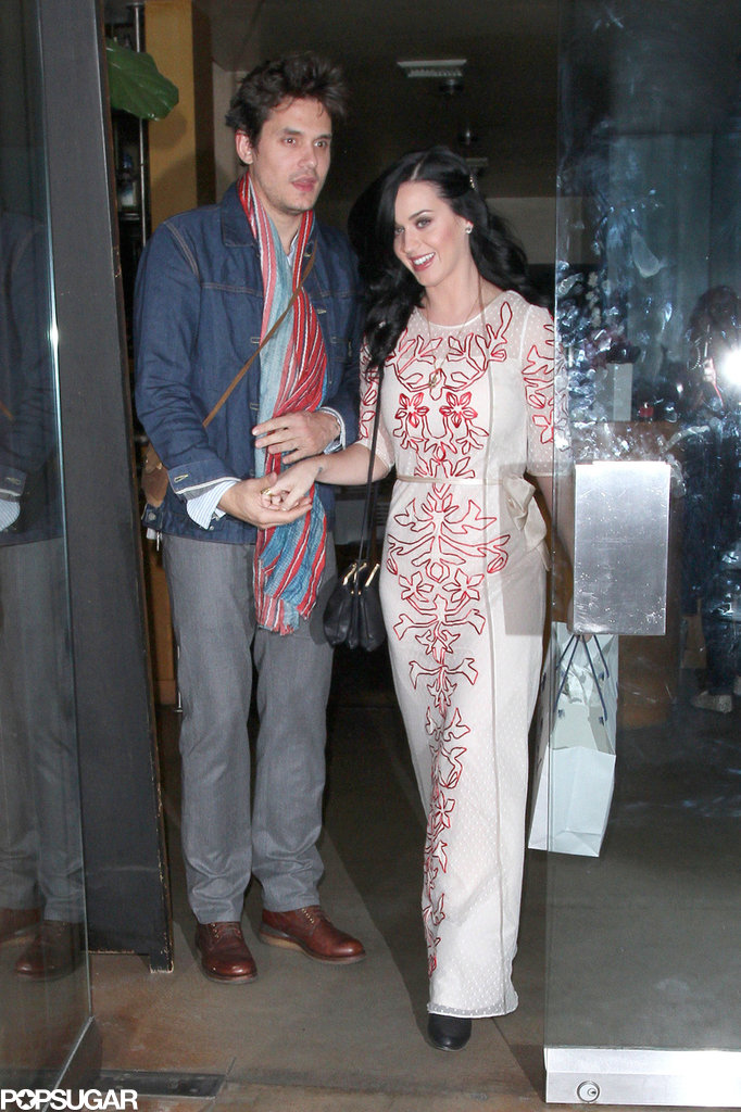 John Mayer and Katy Perry went out to a Valentine's dinner in LA.