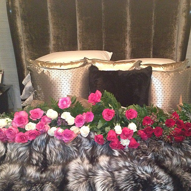Kris Jenner thanked Jaden Smith for her Valentine's Day flowers. Source: Instagram user krisjenner