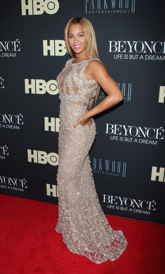 It was only fitting that Beyoncé owned the red carpet at the premiere of her HBO film, Beyoncé: Life Is But a Dream, in a jaw-dropping Elie Saab Couture gown.
