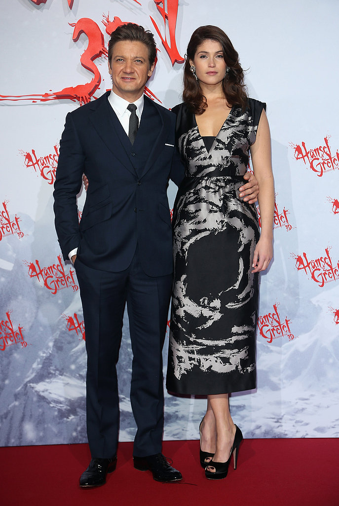 Gemma Arterton showed off a funky Miu Miu print at the Hansel & Gretel premiere in Berlin.