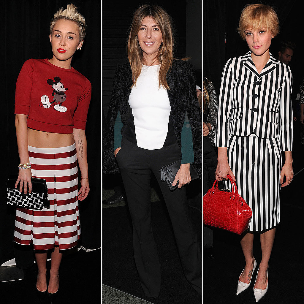 We couldn't keep our eyes off all the celebs (and their outfits) in NYFW's front rows.