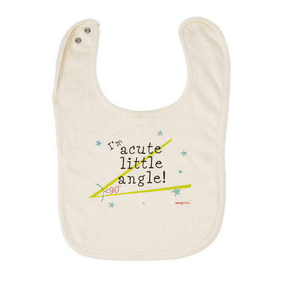 Uncommon Goods Acute Angel Bib
