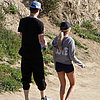 Actress Hiking With Boyfriend on Valentine&#039;s Day | Picture