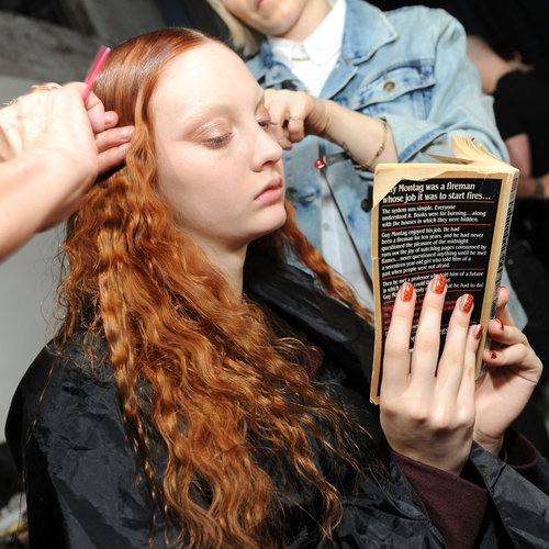 Models Reading Books