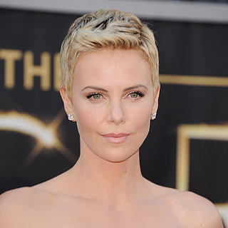 Charlize Theron Oscars 2013 Hair