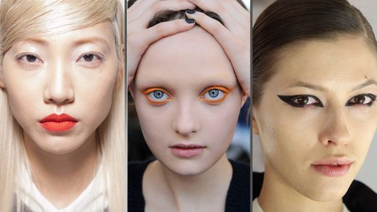 The Top Makeup Trends From NYFW: Get Ready For Color and Cat Eyes!