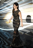 Sandra Bullock took the stage to present an award at the 2013 Oscars.