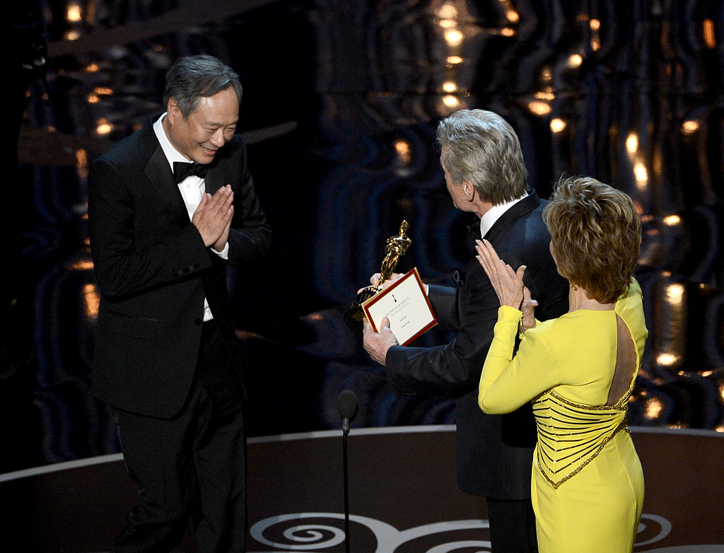 Ang Lee won best director for Life of Pi.