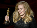 "Adele won the Oscar for best original song for ""Skyfall."""
