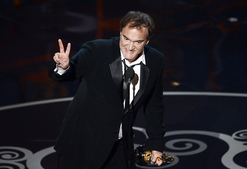 Quentin Tarantino won the award for best original screenplay.