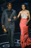Kerry Washington and Jamie Foxx took the stage at the Oscars.