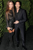 Adrien Brody attended the event with his girlfriend.