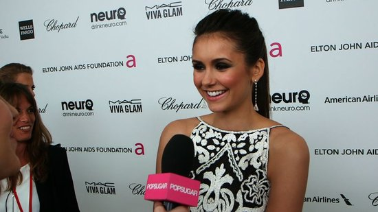 "Nina Dobrev on Her ""Spontaneous"" Oscars Move With Ian Somerhalder"