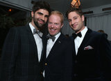 Jesse Tyler Ferguson smiled with Justin Mikita and Joe McCanta.