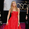 Jennifer Aniston and Justin Theroux Oscars GIF