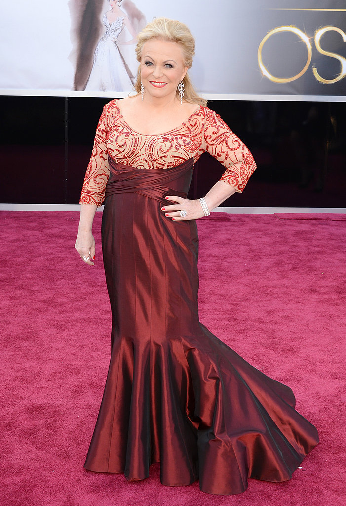 Jacki Weaver attended the Oscars in LA.