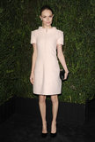 Kate Bosworth wore a pink Chanel frock.