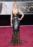 Nicole Kidman wore an embellished L'Wren Scott dress.