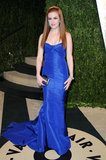 Ishla Fisher arrived at the Vanity Fair Oscar party on Sunday night.
