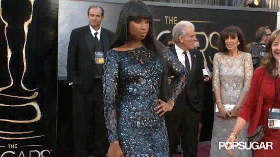 Jennifer Hudson Oscars GIF