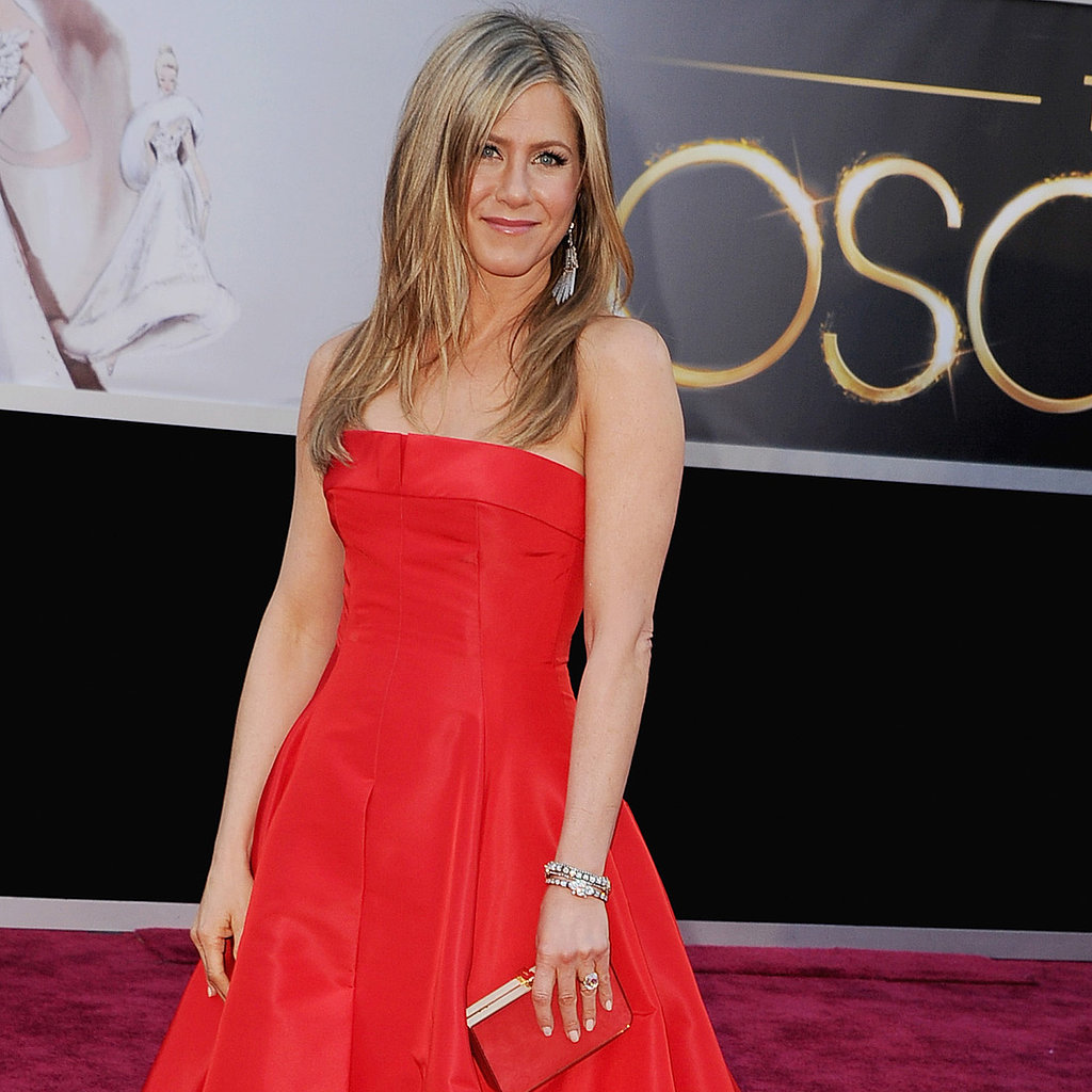 Jennifer Aniston Oscar Dress 2013 | Pictures