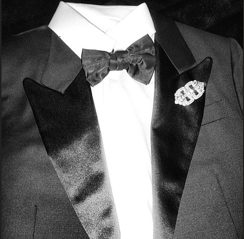 Zac Posen suited up for the night. Source: Instagram user Zac_posen