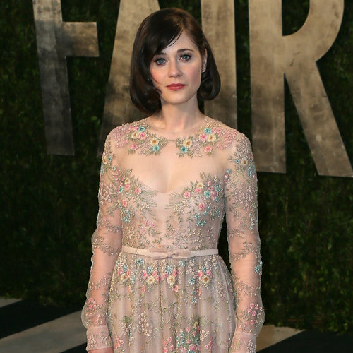 Zooey Deschanel Oscar Party Dress 2013 | Pictures